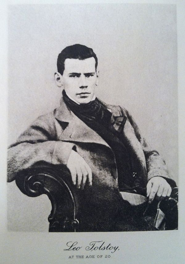 Image result for tolstoy young