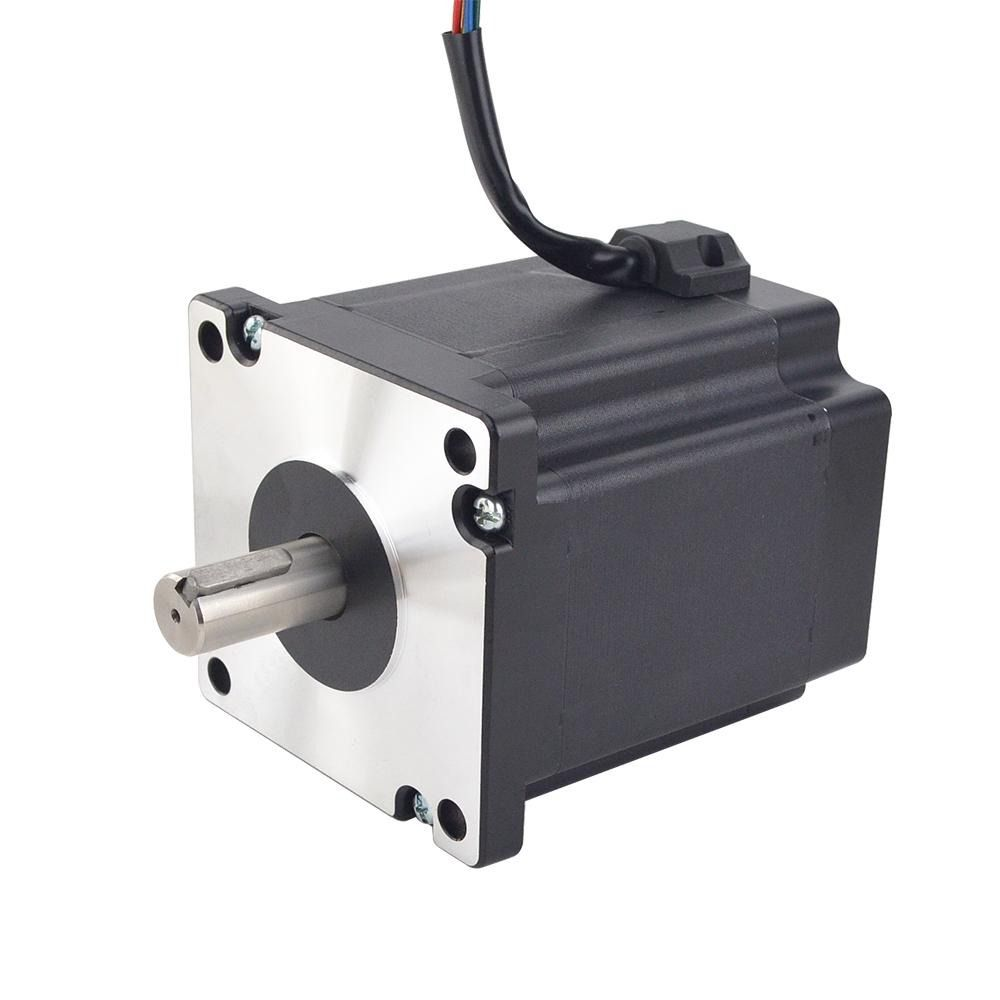 Nema 42 3 Phase Stepper Motor Bipolar 16 Nm 2266 24oz In 5 0a 110x110x162 5mm In 2020 Stepper Motor Frame Sizes Manufacturing