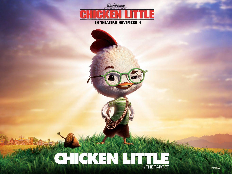 Chicken Little Walt Disney Animated Movies Cartoon Movies Cute Cartoon Wallpapers