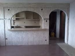 Resultado De Imagen Para Cocina Con Arco Y Meson Y Gabinetes De