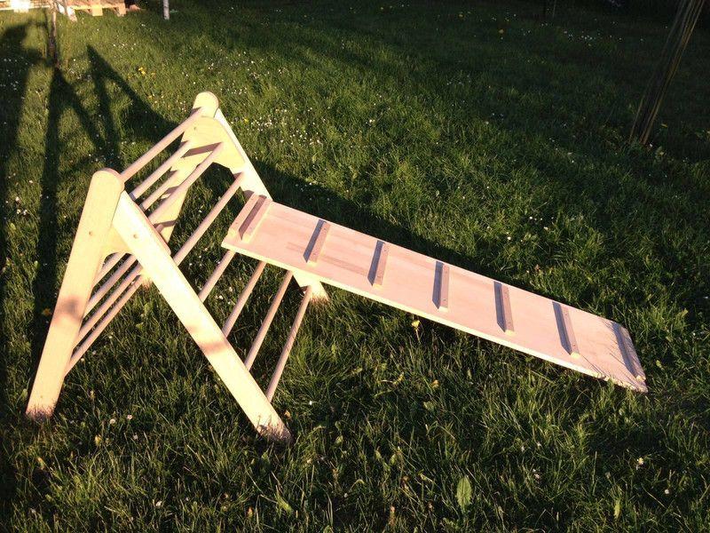 Kleinkind Klettert Dreieck : Kleinkind klettert dreiecke umwandelbares pikler dreieck mopitri