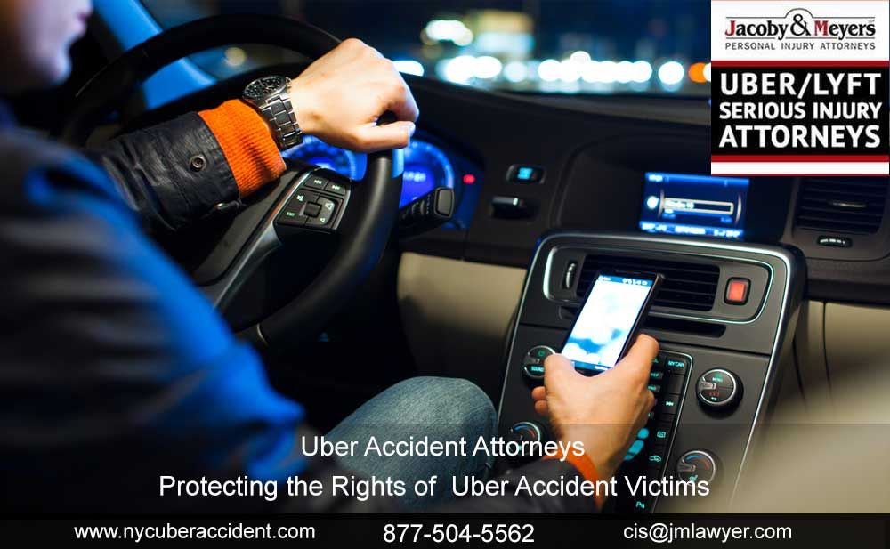 NYC Uber Accident Distracted driving, Driving, Smartphone