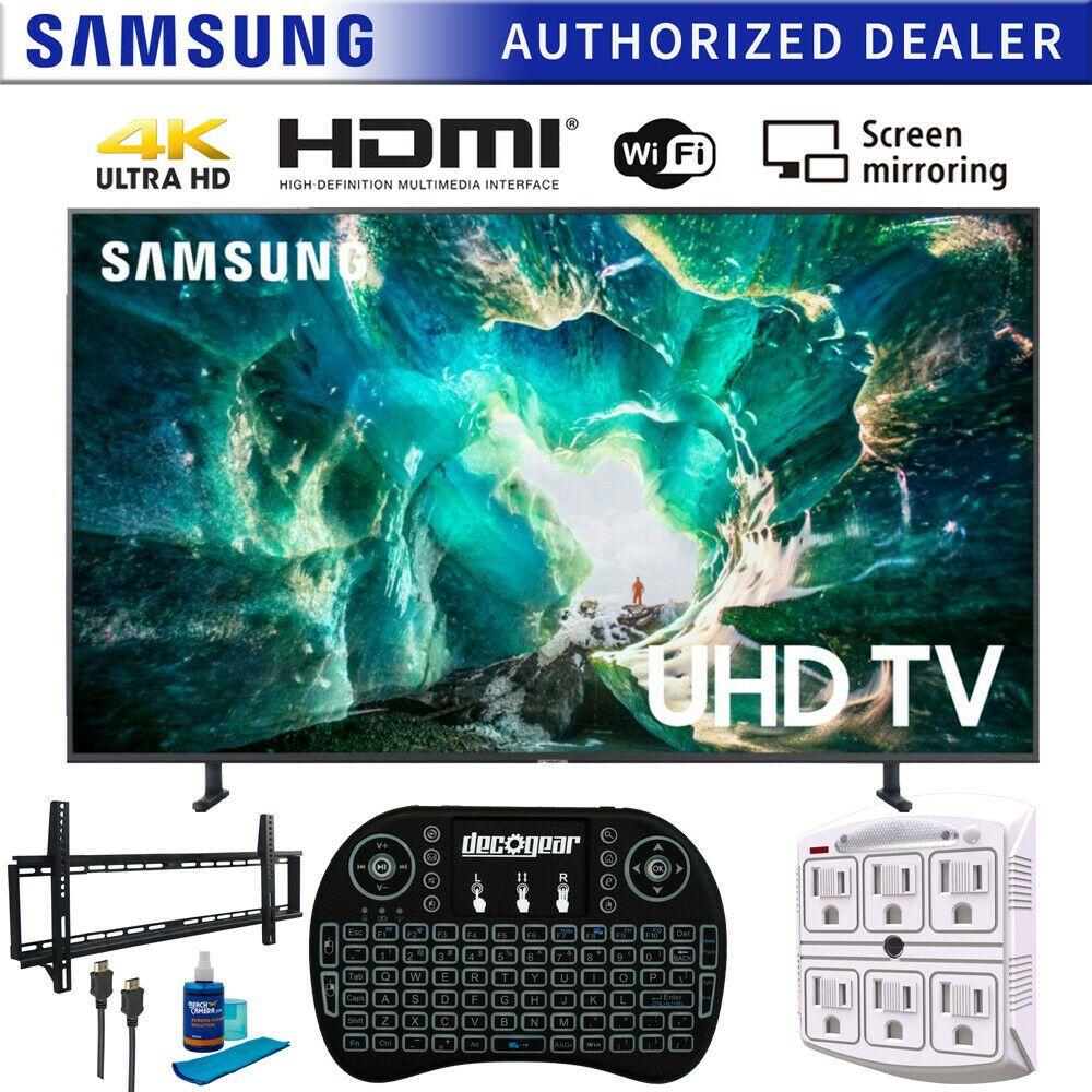 Samsung Un49ru8000 49 Ru8000 Led Smart 4k Uhd Tv 2019 Wall