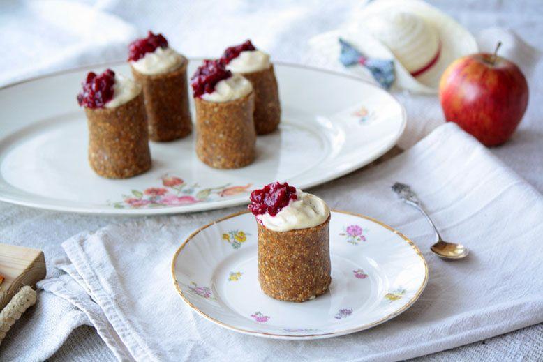 Raw Dessert Collection: Runebergin tortut | Jolie | Organic Health & Beauty