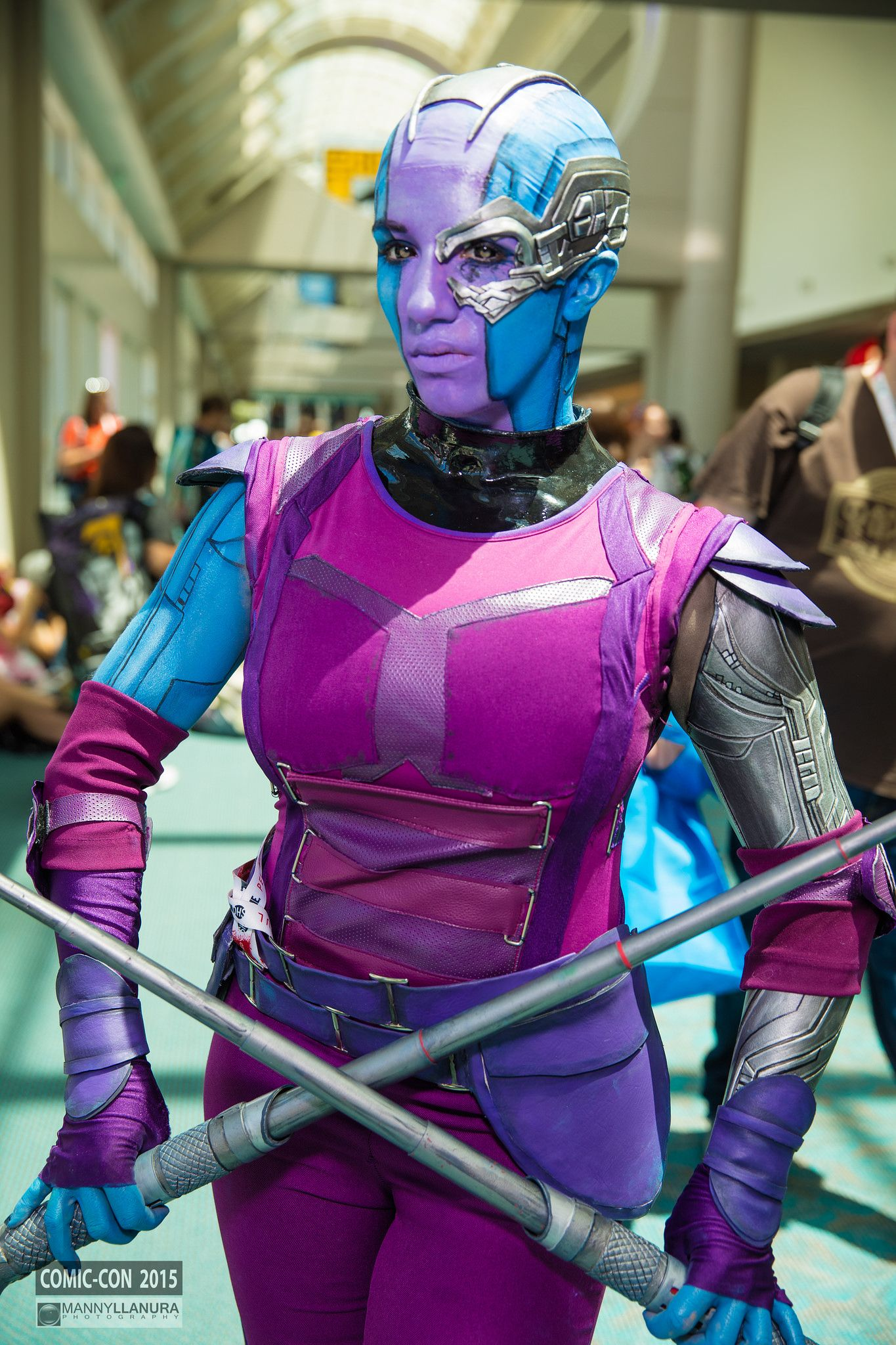 Nebula (Guardians of the Galaxy) #cosplay San Diego Comic Con 2015 | pc: http://facebook.com/MannyLlanuraPhoto