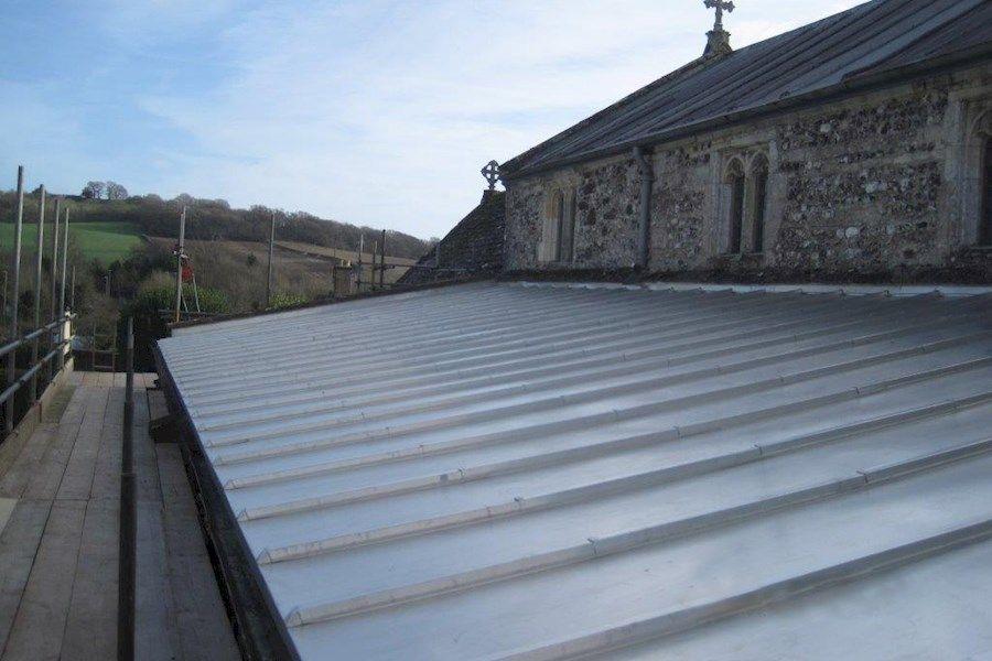 Bere Regis Church Roofing Roofing Contractors Metal Roof