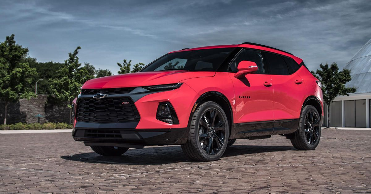 New Chevy Blazer >> 2019 Chevy Blazer Looks To The Camaro For Design Inspiration