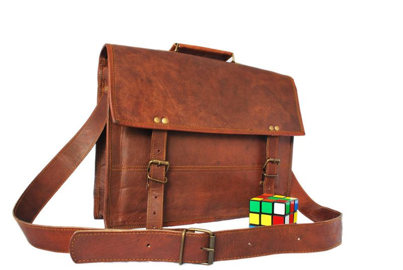 Indiana Jones Leather Satchel 13