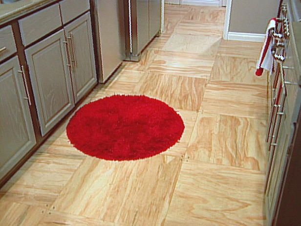 Paintedplywoodfloorsideas By Non Conventional And Cheap
