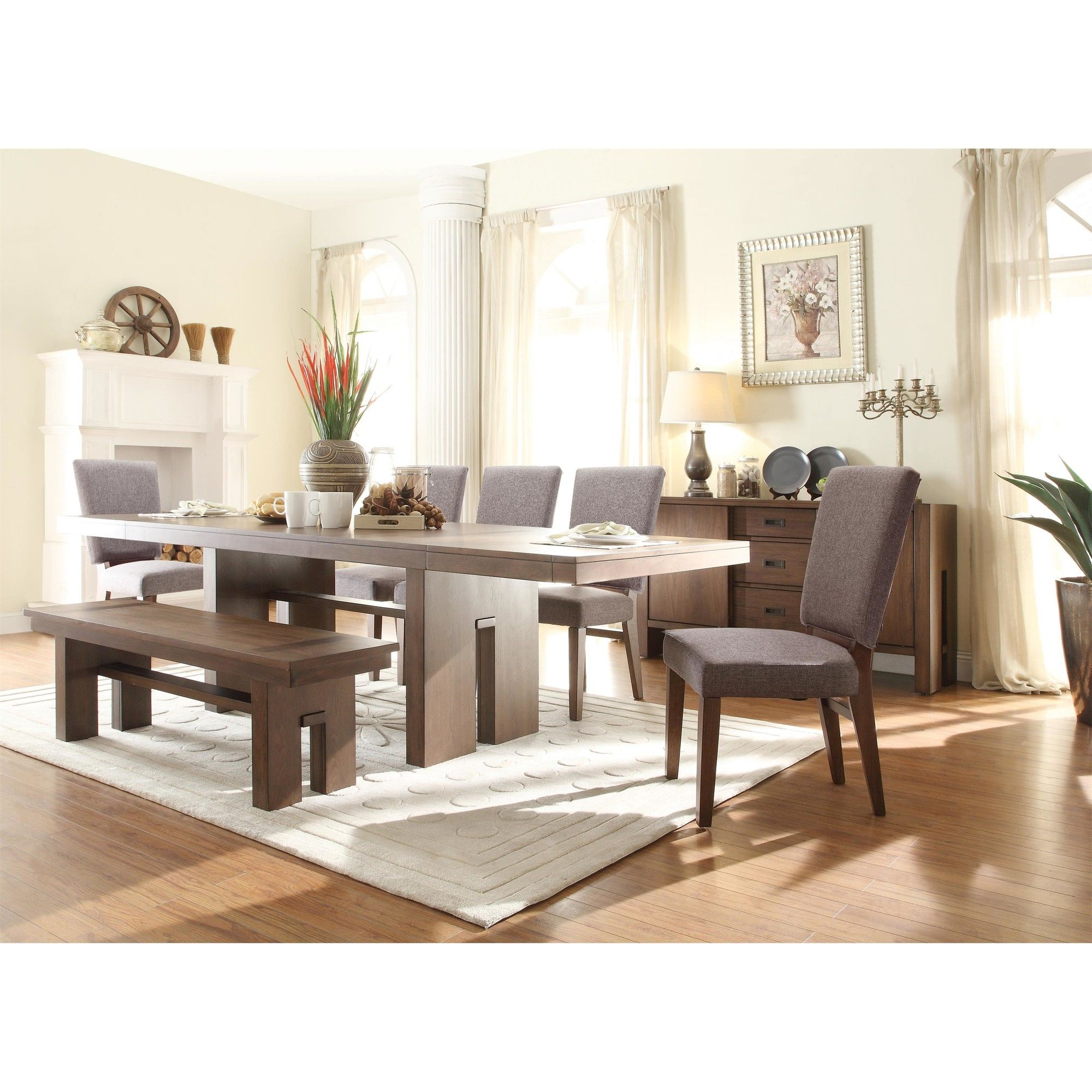 Riverside Furniture Terra Vista Extendable Dining Table & Reviews ...