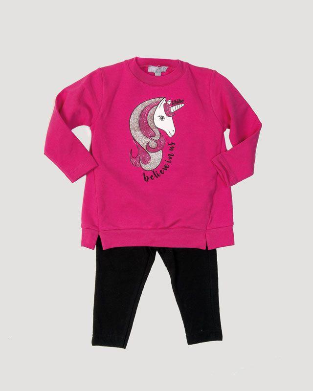 94ca7f30446 Η μπλούζα είναι είναι από μαλακό ύφασμα baby φούτερ. Μπροστά έχει τύπωμα  μεταξοτυπία με ασημί