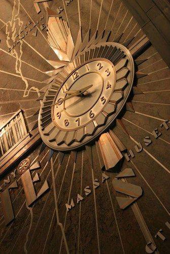 Art Deco Clock Architecture