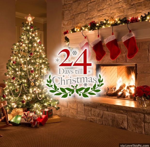 24 Days Until Christmas Quote christmas christmas quotes christmas ...