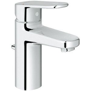 Grohe G33170002 Europlus Single Hole Bathroom Faucet - Starlight ...