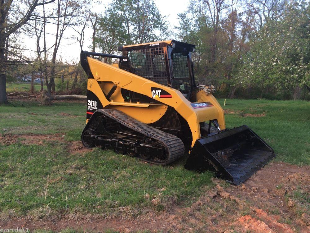 Cat 287b Track Skid Steer Loader Caterpillar Tractor Bob Cat