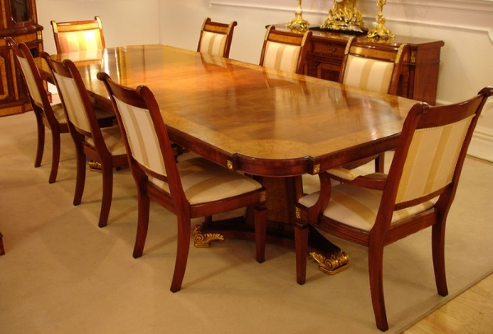 Regal Mahogany Pedestal Dining Tables New To Our Regal Collection