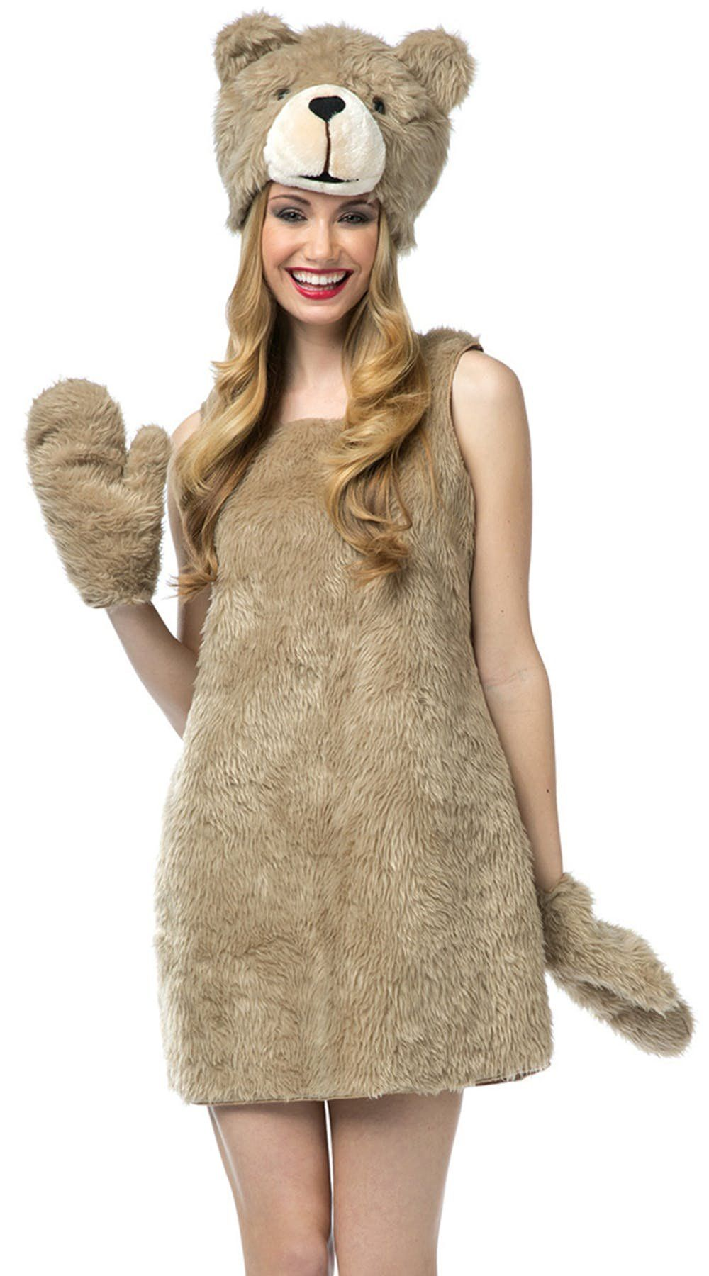 a2446b9f2e57 Funny, sexy Halloween costumes, like this Teddy Bear costume ...