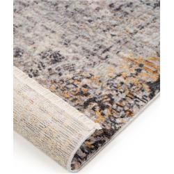benuta Teppich Valencia Grau/Blau 300×400 cm – Vintage Teppich im Used-Look benuta