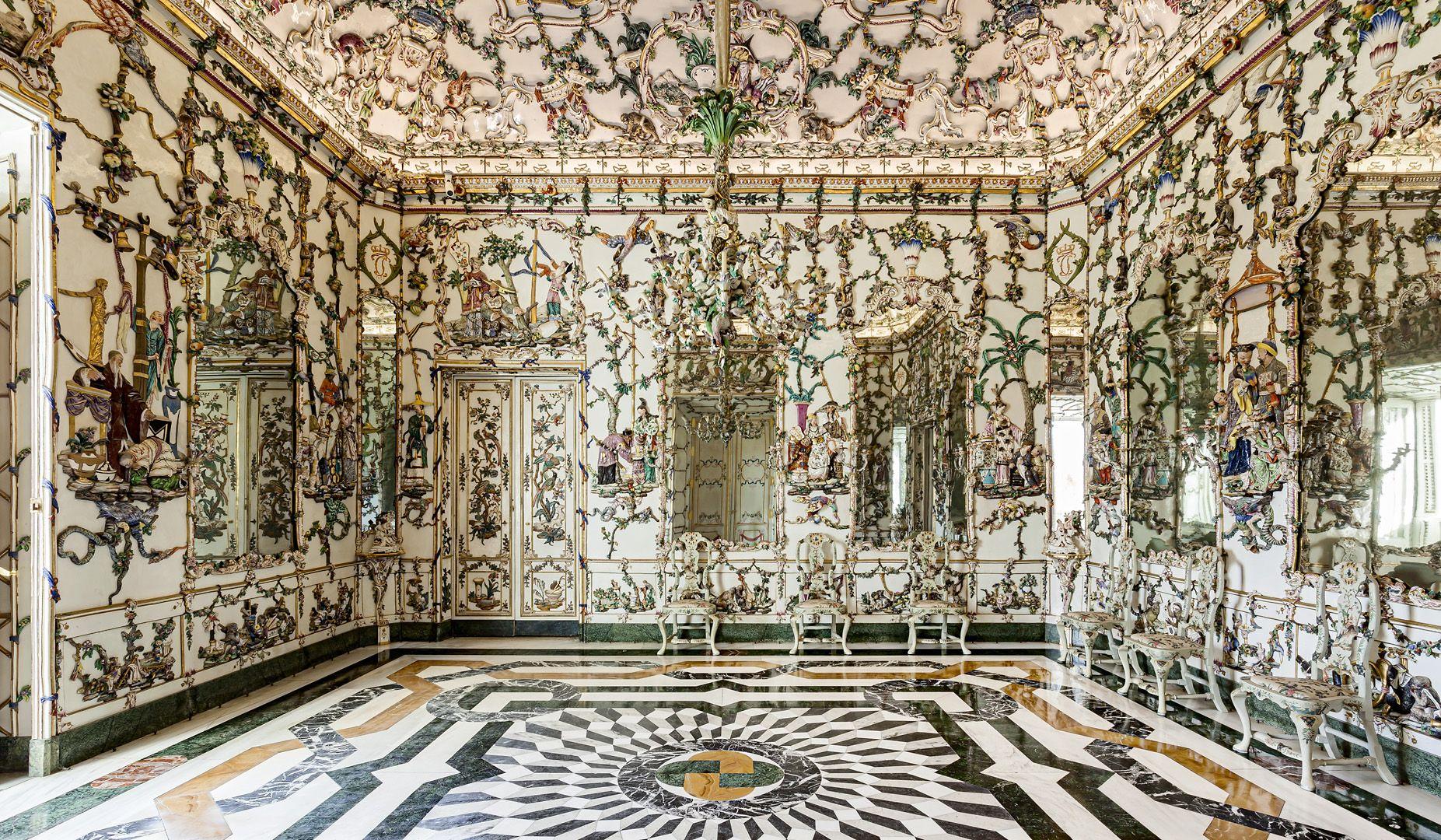 Resultado de imagen de Aranjuez gabinete de porcelana