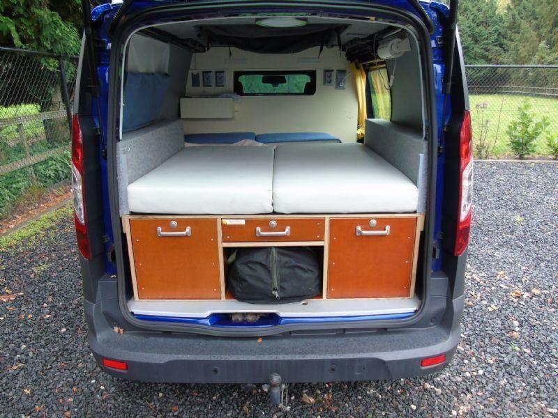 Ford Transit Connect Mini Camper Uniek Zeer Compleet Btw Bpm