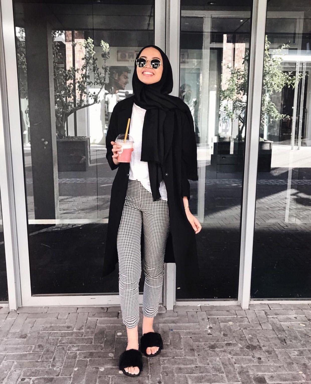 Ide Padu Padan Celana Dan Baju Lengan Panjang Untuk Para Hijabers