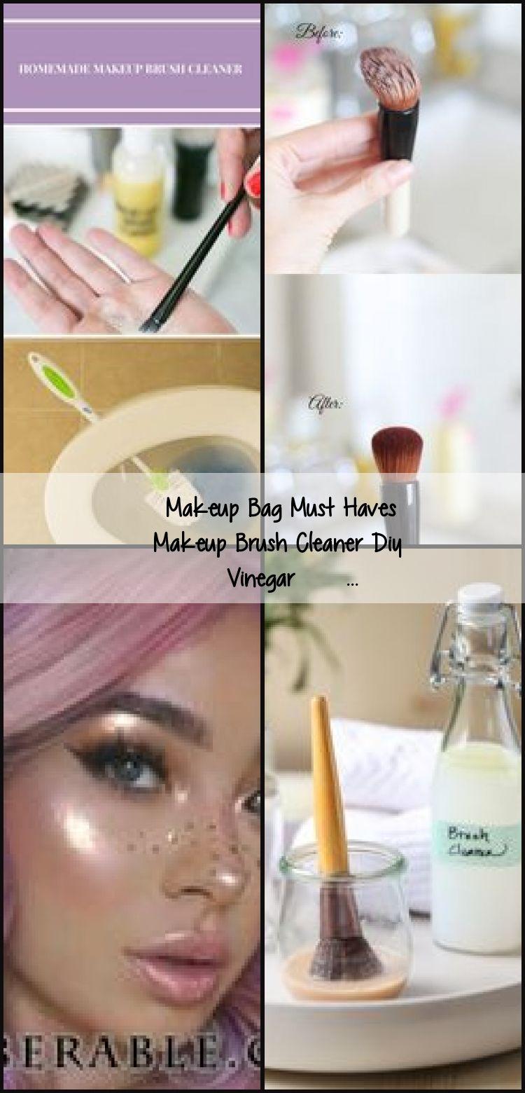 Photo of Makeup Bag Must Haves Makeup Brush Cleaner Diy Vinegar #makeup #hair #love #st  …,  #diymak…