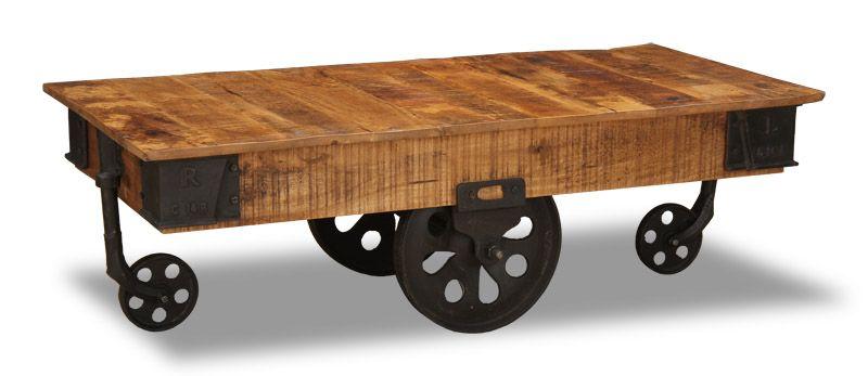 Wood Vintage Furniture Coffee Table