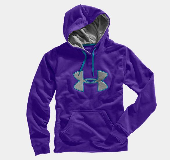 a0a73a6146 Women's Armour® Fleece Storm Big Logo Hoodie | Under Armour US ...