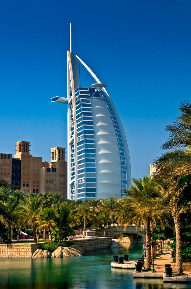 burj al arab, dubai, uae - amazing places - for further information