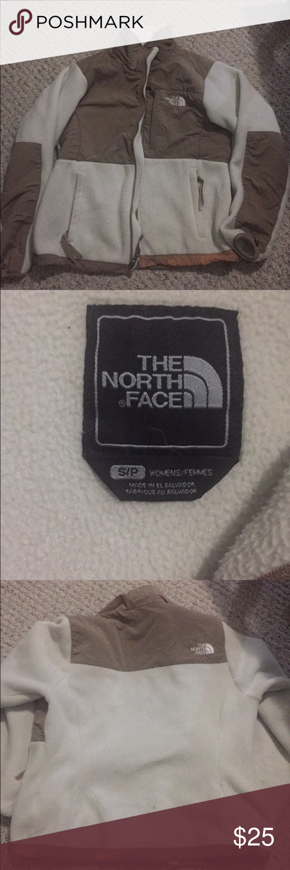 North face jacket In good condition, only flaw is that it was accidentally bleached on the bottom. North Face Jackets & Coats