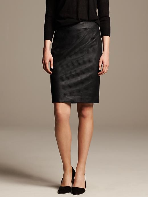 d24b4fad84 Office to Date Night Outfit Idea: Poppy Delevingne's White Shirt and Black  Leather Skirt: Glamour.com