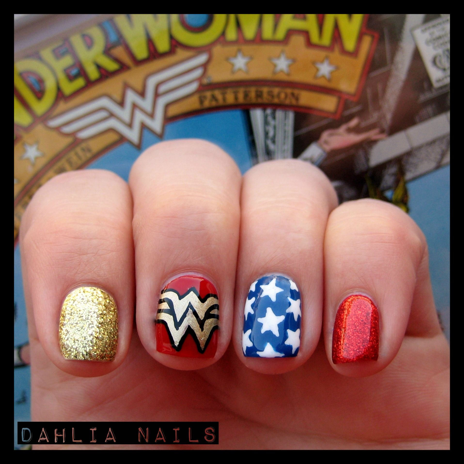 Wonder Woman Nails More