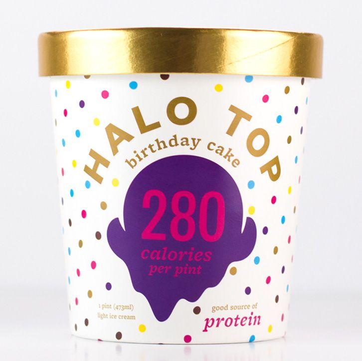 Dairy ice cream flavors ice cream birthday cake halo