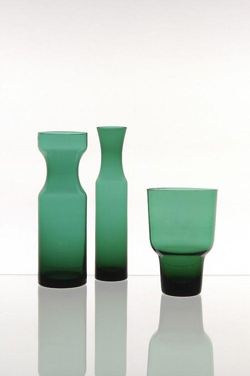 Hans Theo Baumann, Glas-Objects, 1960s, Gral-Glashütte, Dürnau