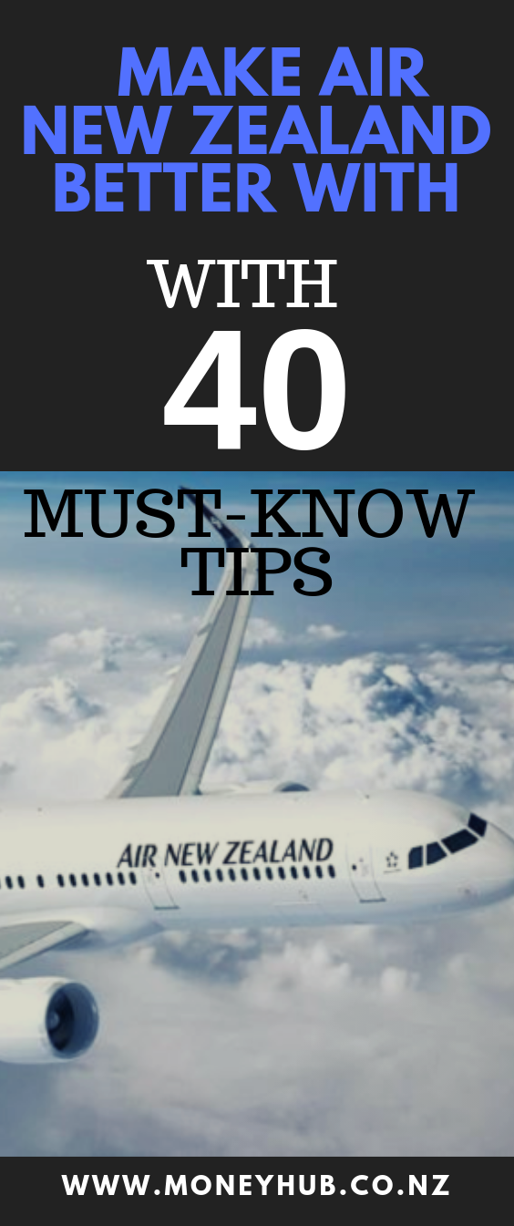 Pin By Moneyhub New Zealand On Top Travel Hacks Air New Zealand