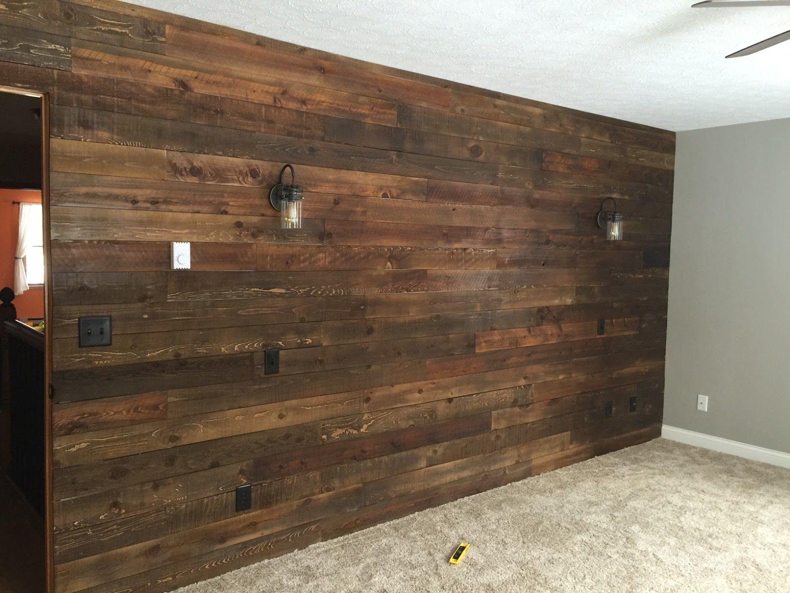 13 Muros forrados de madera