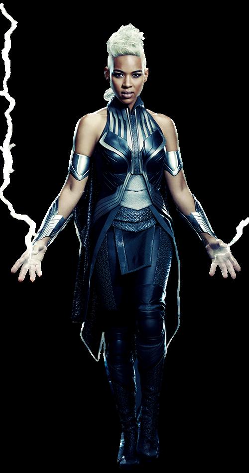 XMen Apocalypse's Storm Transparent Background! by Camo