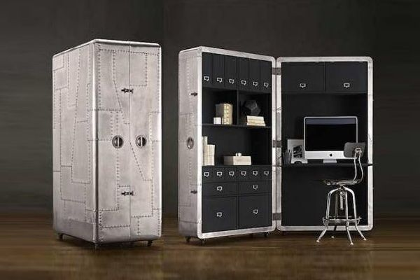 mobile blackhawk secretary trunk baxtton baxtton. Black Bedroom Furniture Sets. Home Design Ideas