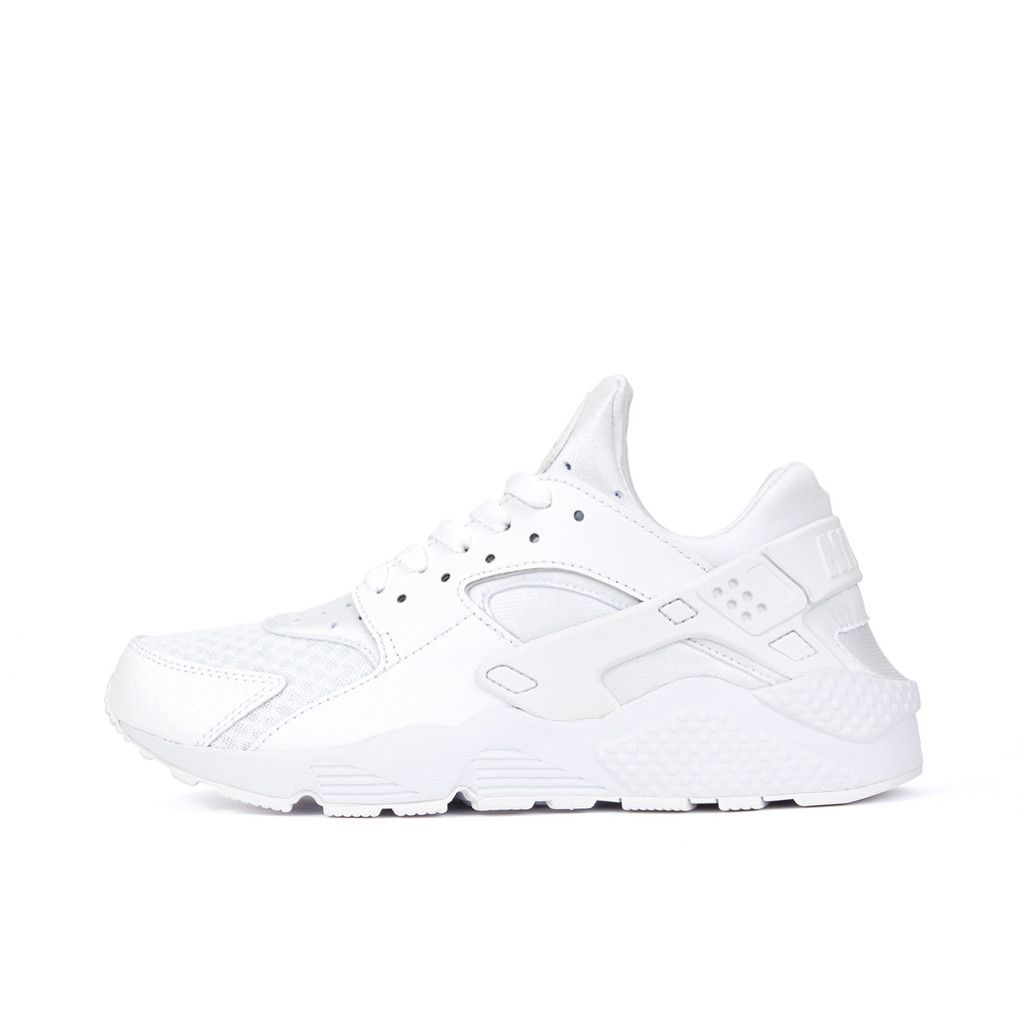 sale retailer 9fea7 accee Nike Air Huarache Triple White WhitePure Platinum. Available at Concrete  Store Prinsestraat  Concrete Store Amsterdam  WEBSHOP  concretestore ...