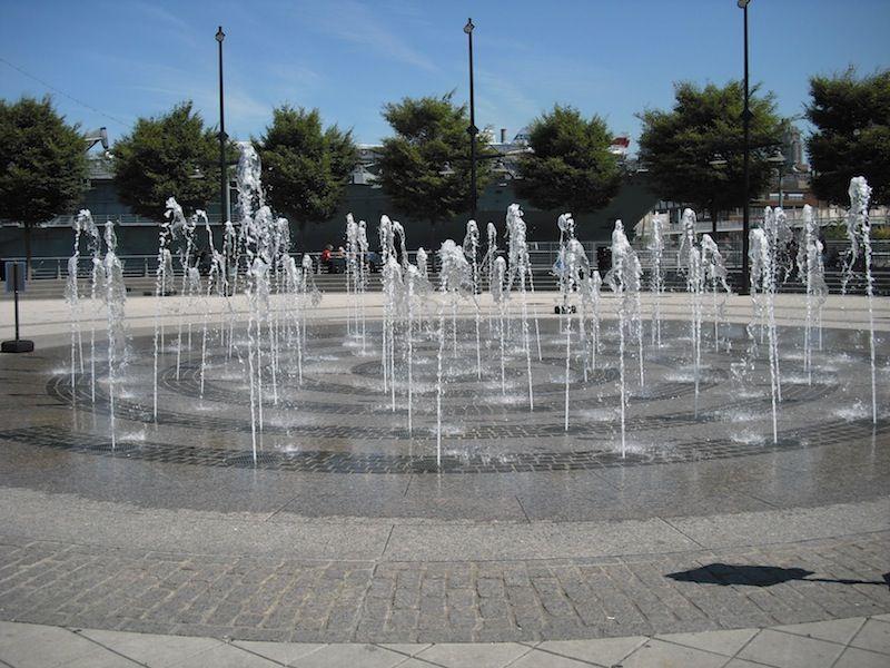 Order As Art: Dancing Fountain