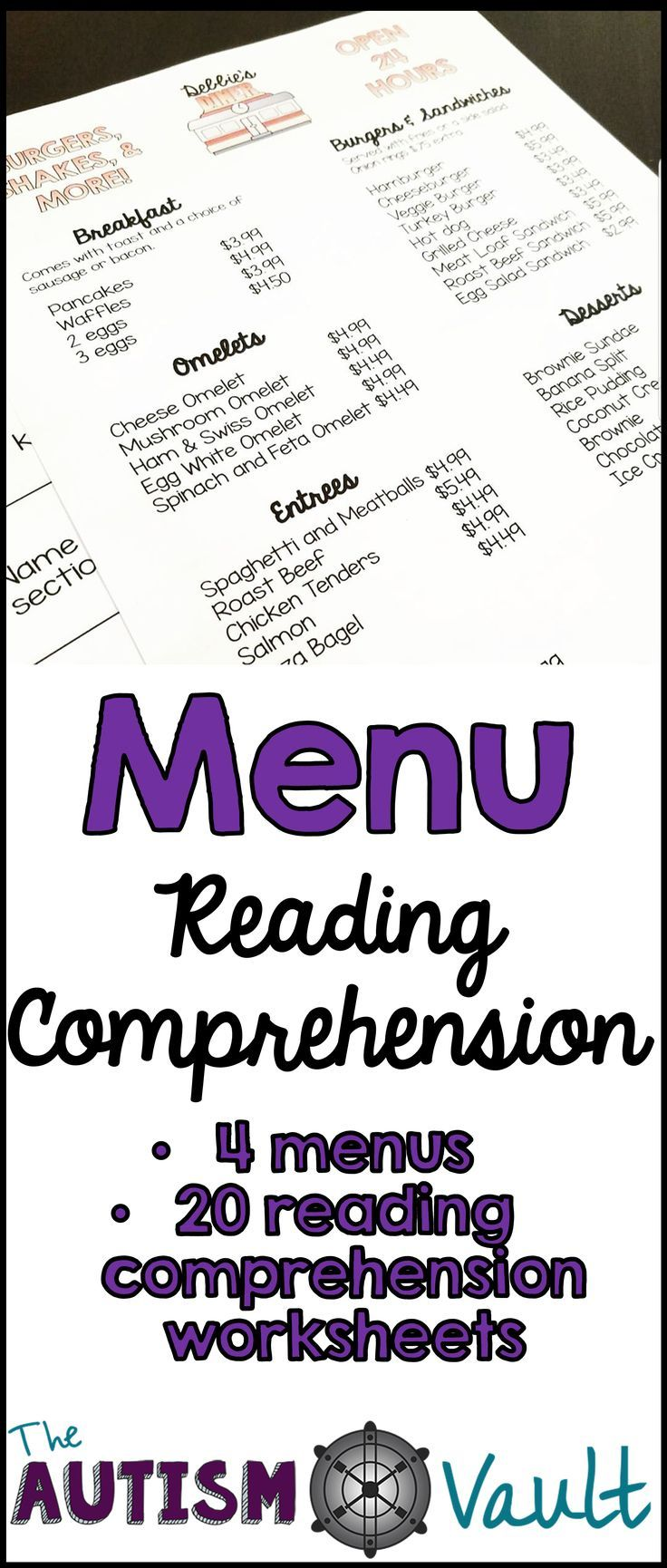 Worksheets Functional Reading Worksheets menu reading comprehension functional literacy here is a pack that fuses life skills and together included are 4