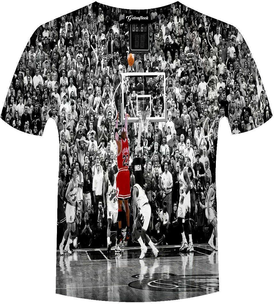 28b4e3986 Michael Jordan Last Shot Tee – Getonfleek | Clothes | Jordans, Sexy ...