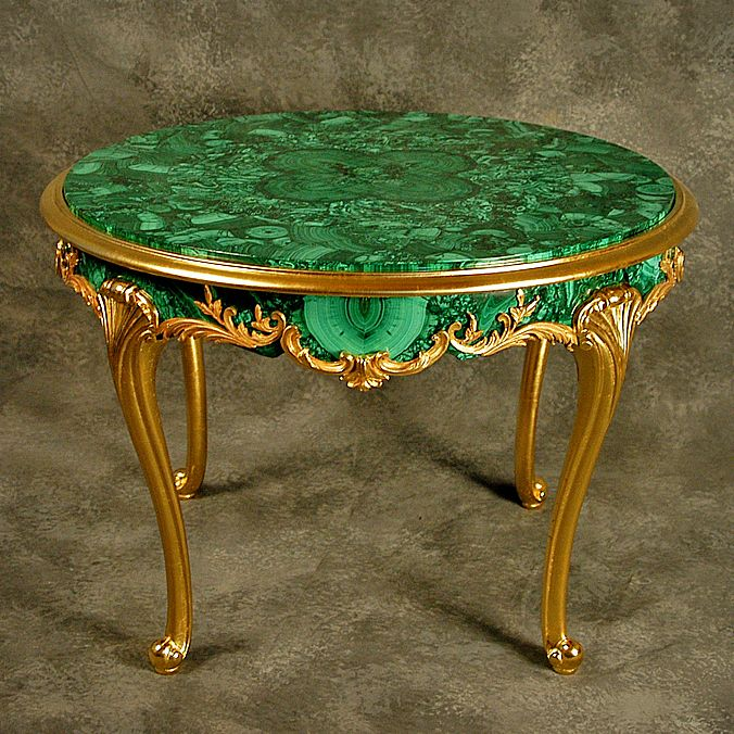 Malachite Table | Russian malachite | Pinterest | Tables ...