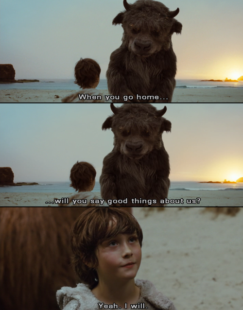 Where The Wild Things Are Bull Talked For The First Time Really Good Movies Film Stills Favorite Movies