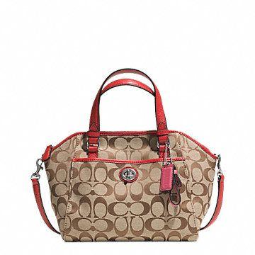 Park Signature Mini Satchel Bags Top Handle Bag Ladies