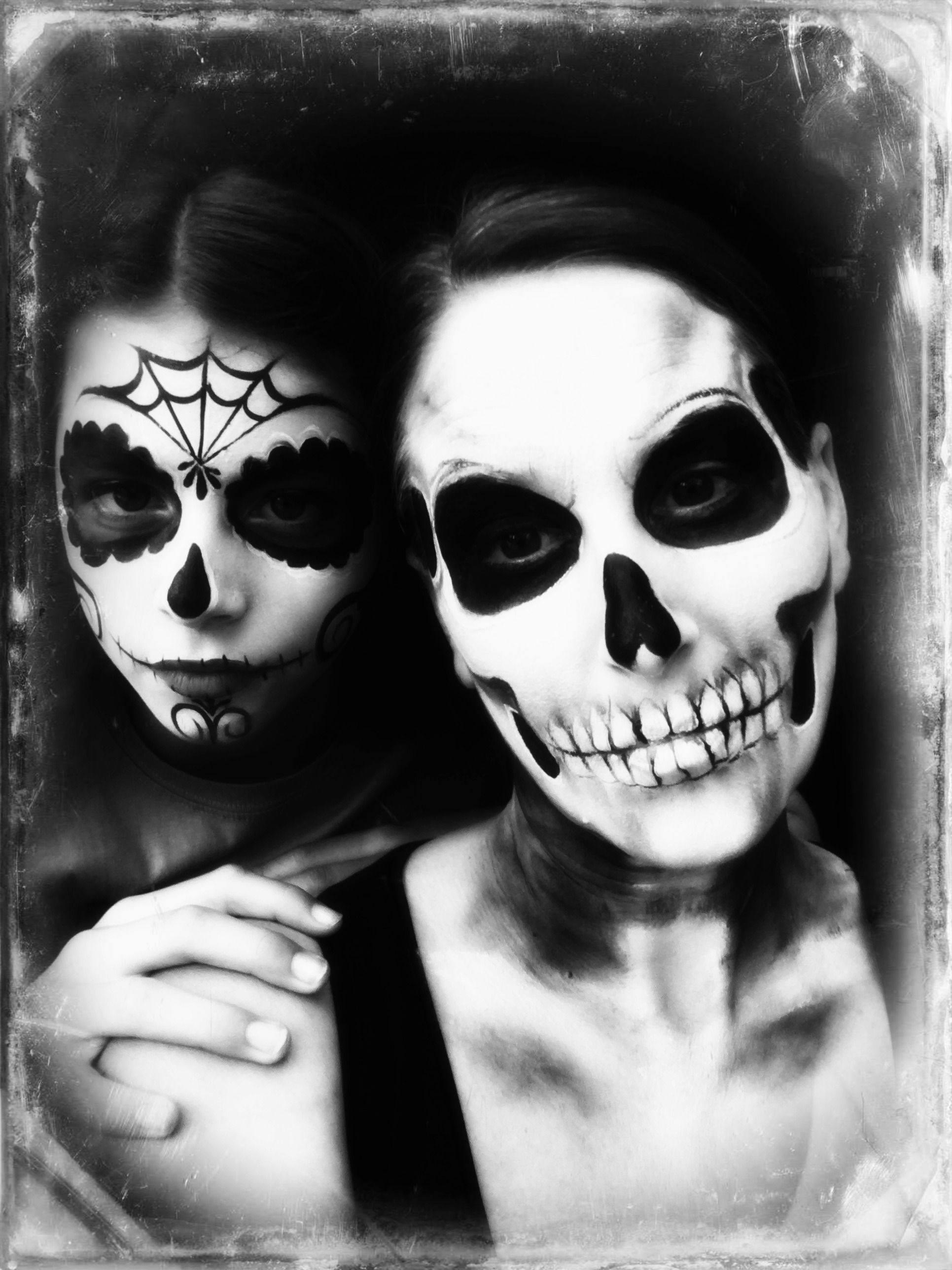 halloween skull face paint | halloween ideas | pinterest | skull