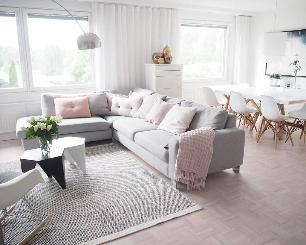 top 10 living rooms scandi style cosy interiors and living rooms. Black Bedroom Furniture Sets. Home Design Ideas