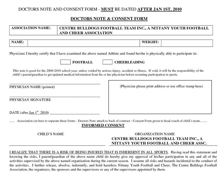 Hipaa Consent Forms Yearly Physical Exam Form Is Used By The