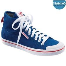 designer fashion db723 9236e Ladie s Nuevas Adidas Honey Mid Blue textiles formadores v24262