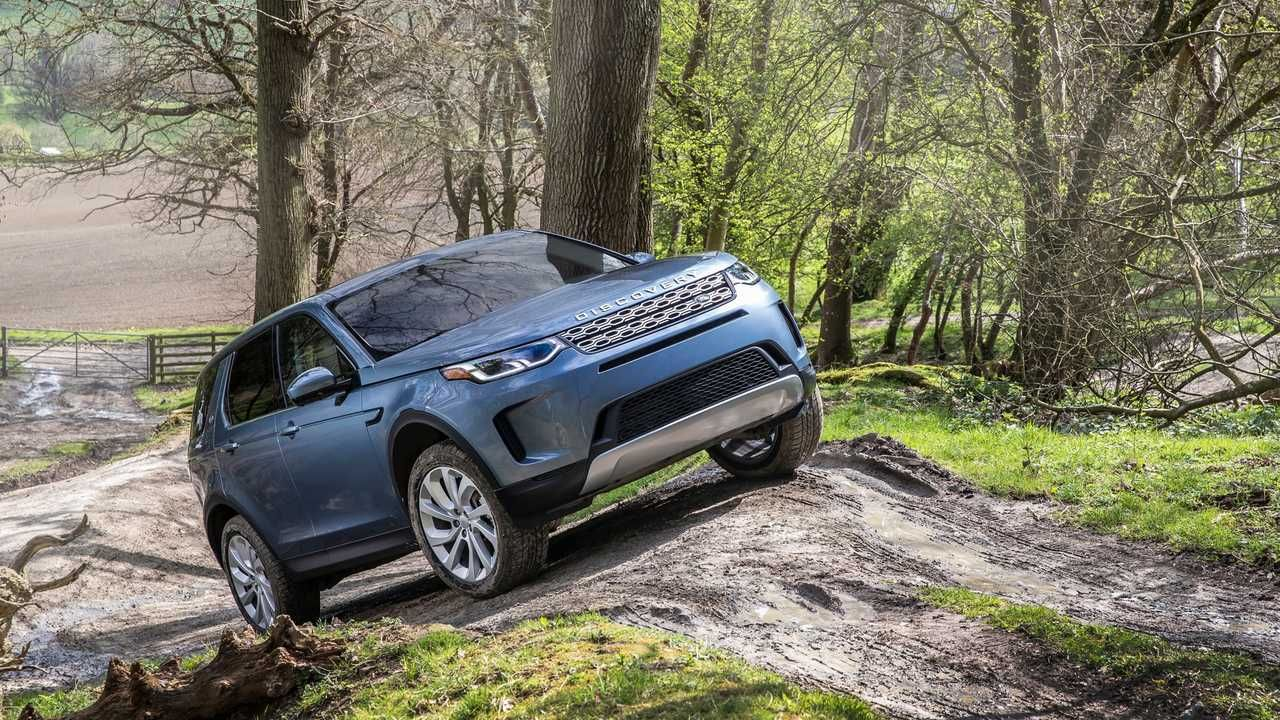 2019 LandRover Discovery Sport facelift (With images